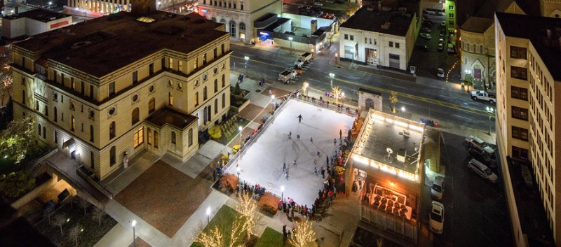 Downtown-Canton-Ice-Skating-Rink